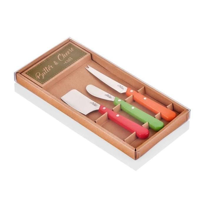 ست چاقوی صبحانه 3 پارچه دمیا
