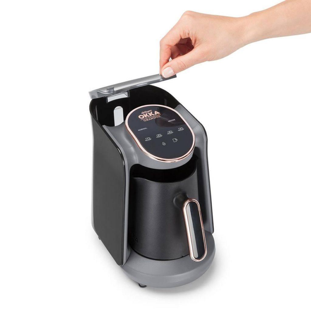 قهوه ترک ساز آرزوم Arzum مدل OK005 کروم
