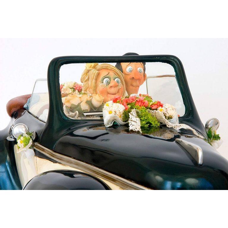 مجسمه ماشین عروس Just Married فورچینو FORCHINO