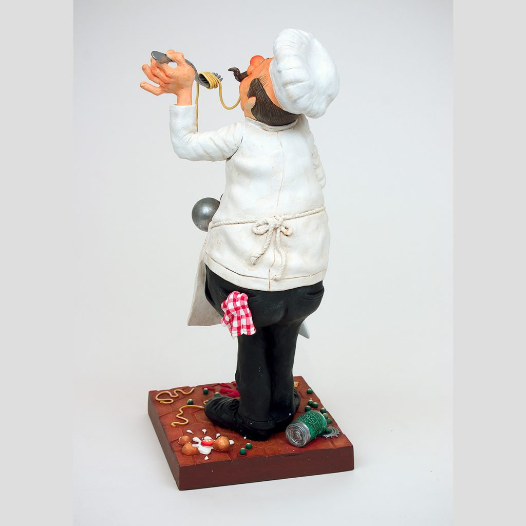 مجسمه کمیک آرت سرآشپز The Cook فورچینو FORCHINO
