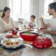 قابلمه استاب STAUB طرح گوجه کد 405117740 سایز 25