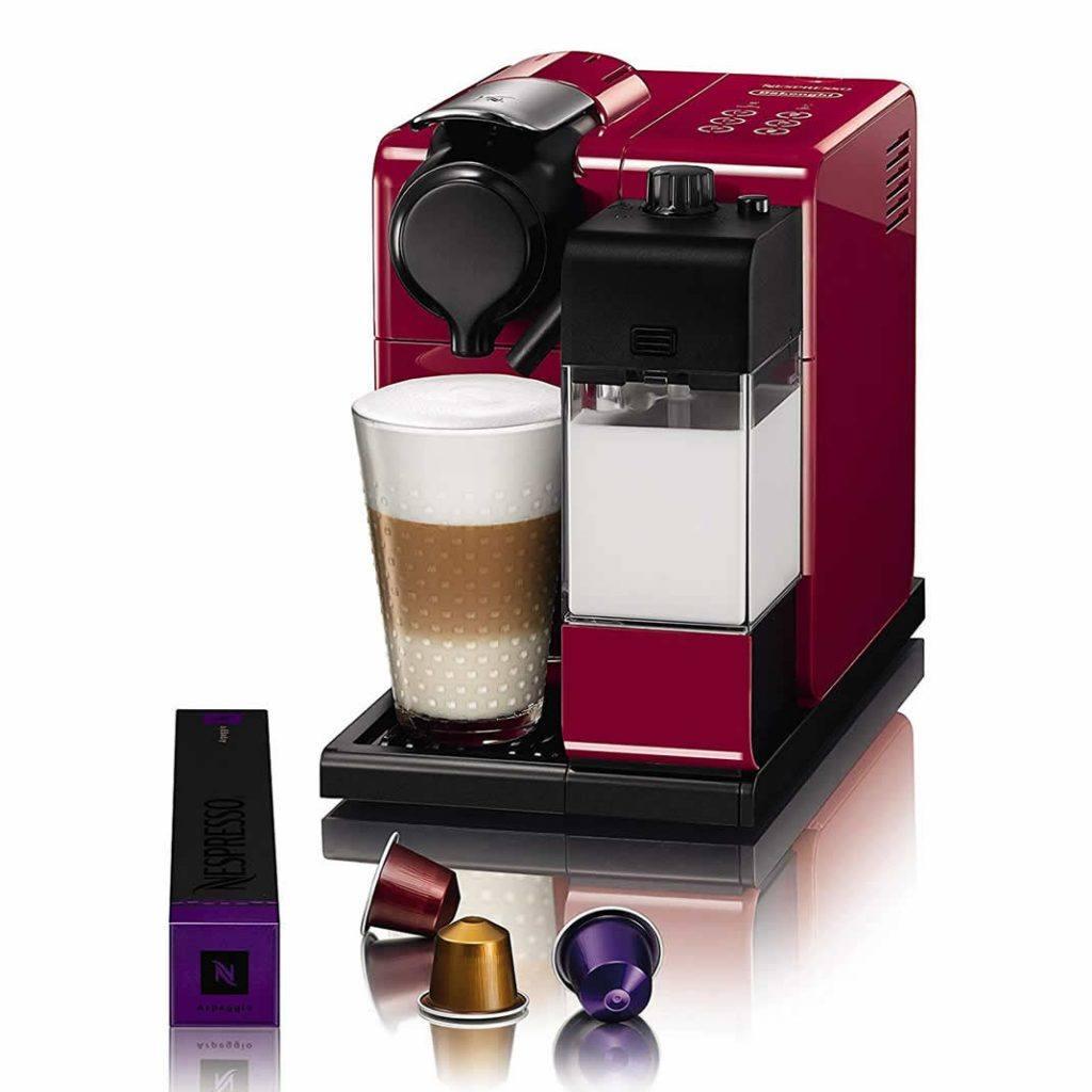 اسپرسوساز نسپرسو Nespresso لاتیسیما Lattissima مدل EN550 قرمز