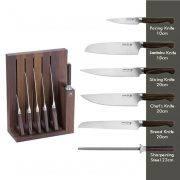 ست چاقو 7 پارچه زولینگ ZWILLING مدل TWIN 1731