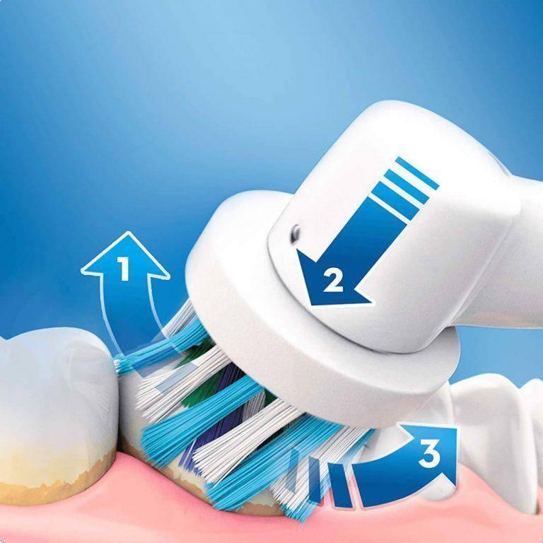 مسواک برقی اورال بی Oral-B مدل Vitality 100 3D صورتی