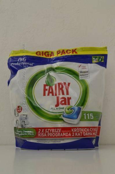 قرص ماشین ظرفشویی فیریFairy بسته 115 عددی مدل جار Jar همه کاره
