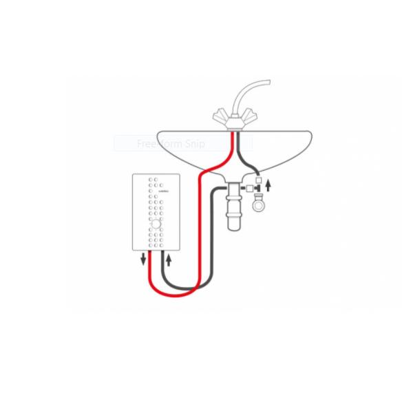 آبگرمکن برقی بدون مخزن  ویتو veito مدل Flow S