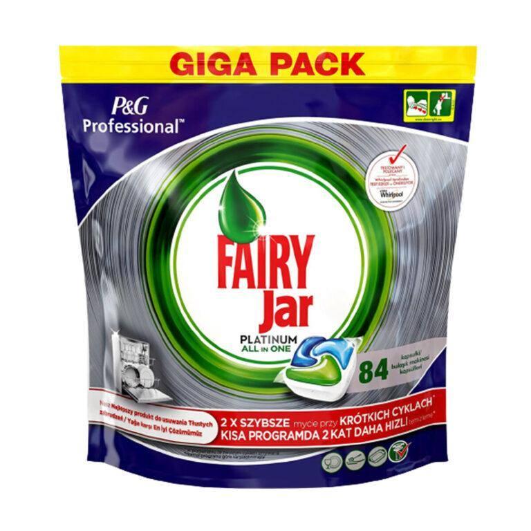 قرص ماشین ظرفشویی فیری Fairy بسته 84 عددی مدل پلاتینیوم جار