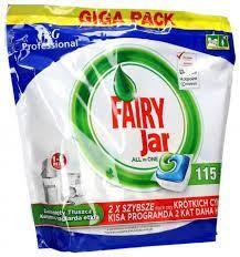 قرص ماشین ظرفشوییFairy بسته 115 عددی فیری مدل جار Jar همه کاره