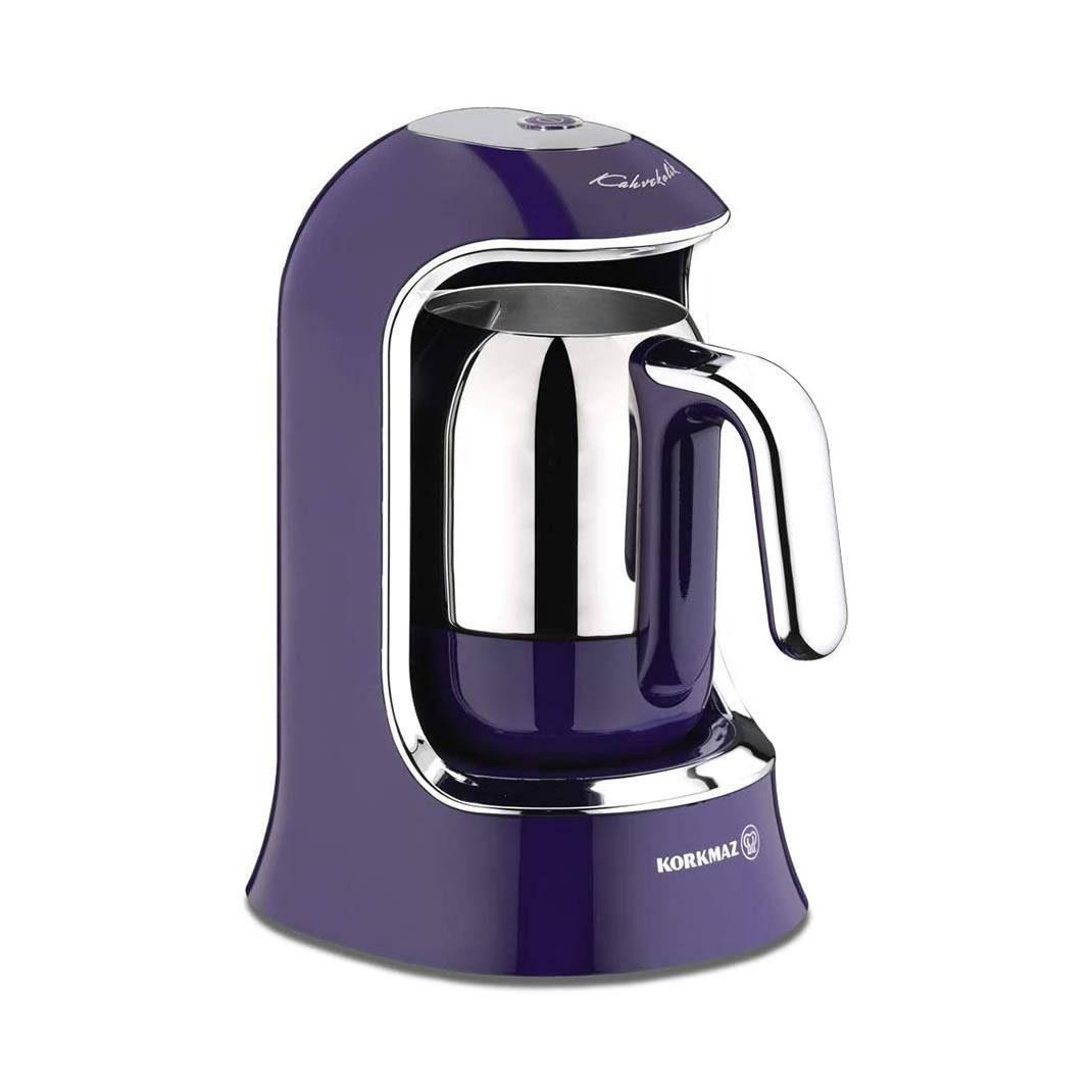 قهوه ترک ساز کرکماز Korkmaz کد A860 بنفش