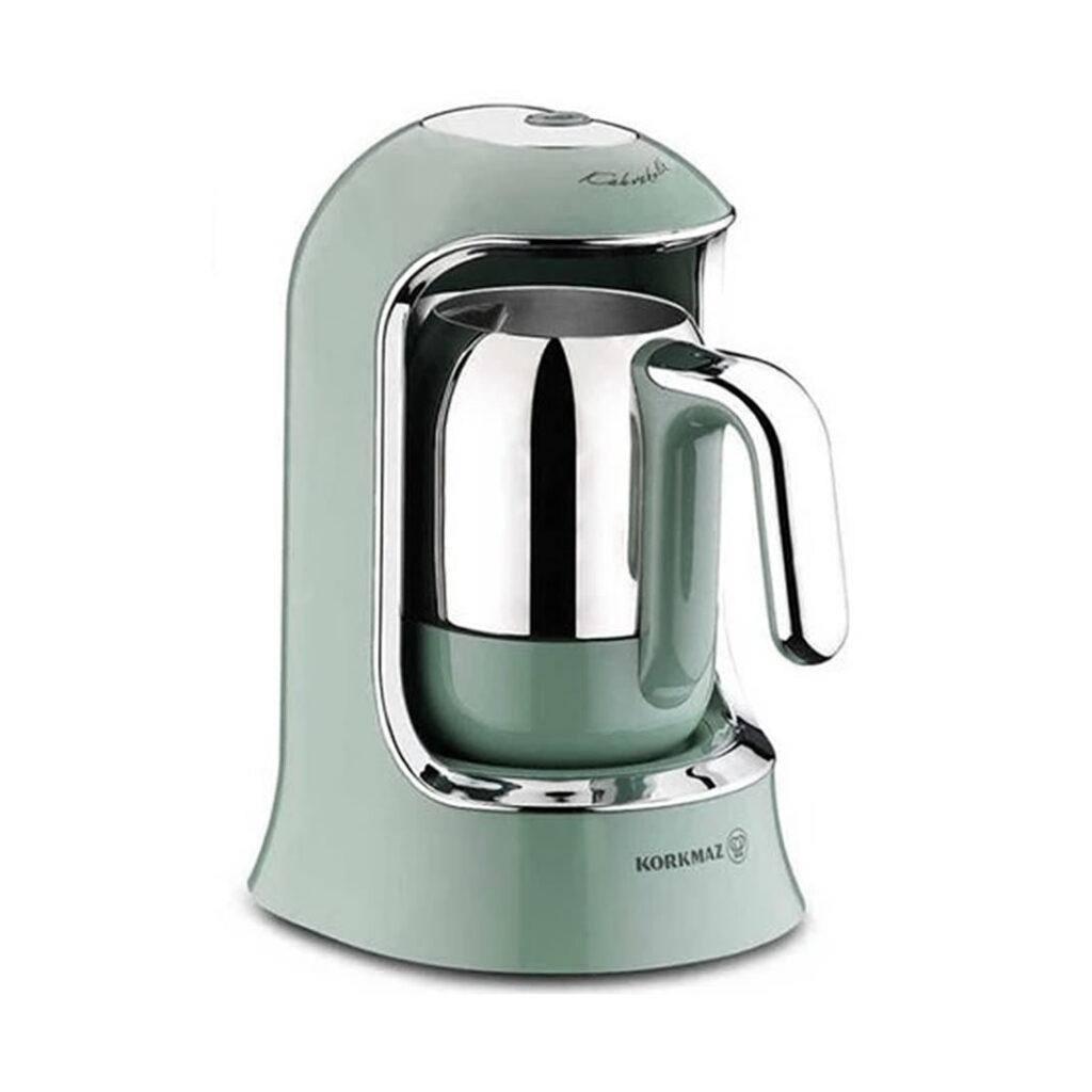 قهوه ترک ساز کرکماز Korkmaz کد A860 سبزدریایی
