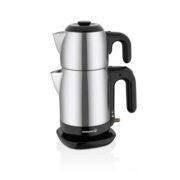 چای ساز کرکماز Korkmaz مدل Demtez کد A369 استیل